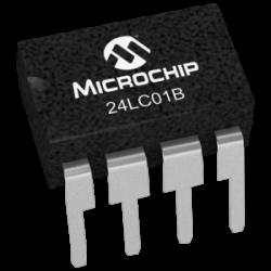 MICROCHIP - 24LC01B-I/P