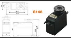 Futaba S148 - Servo Standard Precision - Thumbnail