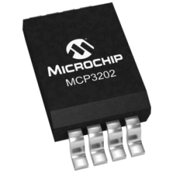 MICROCHIP - MCP3202-CI/SN