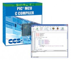 Ccs - PCW - Microchip PIC10/12/14/16 Entegreleri için Windows IDE'li C Derleyici (12 - 14 bit)
