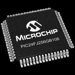 MICROCHIP - PIC24FJ256GB106-I/PT