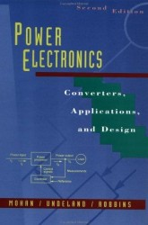 - Power Electronics: Converters, Applications, and Design, 2nd Edition