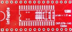 Infogate - SOIC-32/28/24/20/18/16 > DIP-32 çevirici soket