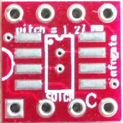 Infogate - SOIC-8 > DIP-8 çevirici soket