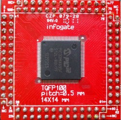 Infogate - TQFP-80/100 > DIP-80/100 çevirici soket